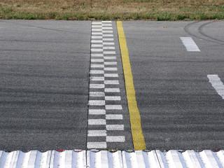 start line in race