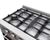 3D render of a close up of an oven poster