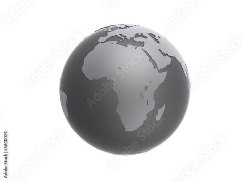 schwarz wei globus von sebastian kaulitzki lizenzfreies. Black Bedroom Furniture Sets. Home Design Ideas
