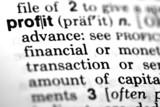 Profit - Definition poster