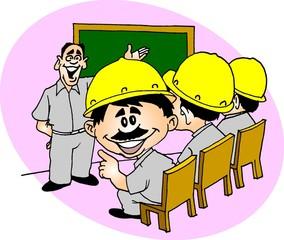 Trabalhador no Treinamento