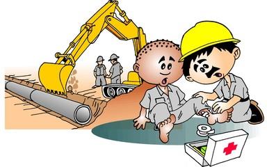Trabalhador Socorrendo