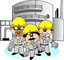 Trabalhador na Industria