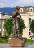 monument of st.clement,ohrid,macedonia