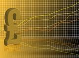 Financial pound poster