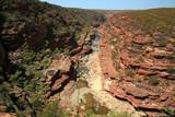 Blick in eine Gorge Australien_07_1241 poster