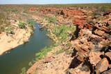 Blick in eine Gorge Australien_07_1247 poster