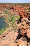 Blick in eine Gorge Australien_07_1246 poster