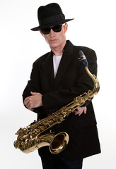 Sax Player 1
