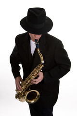 Sax Player 2