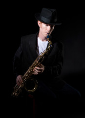 Sax Player 5