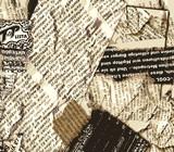Fototapeta retro - miejski - Papier / Karton