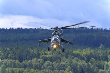 mi 24 hind soviet heavy attack helicopter