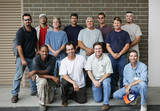 Technical college class photo  poster