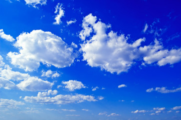 The beautiful sky.