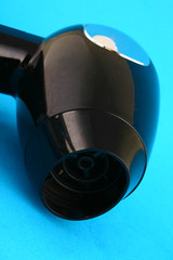 Series: object on white: hair-drier