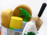 cleaning supplies  poster