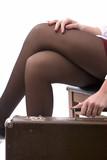 closeup of knees poster