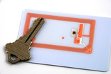 Images depicting the use of RFID for access control poster