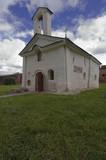 Tiny orthodox church  of  Andrey Stretolat poster