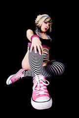 Punk Girl pose 2