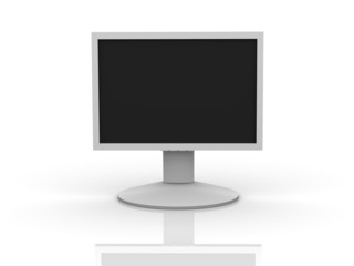 LCD Monitor Front View
