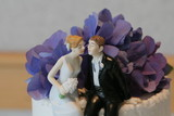 cake topper bride groom marriage wedding poster
