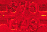 grunge gas reflection abstract poster