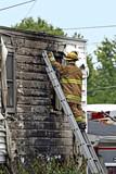 Fireman on Emergency Scene poster