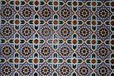 motif arabe poster