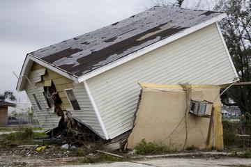 Ninth Ward of New Orleans Post Katrina