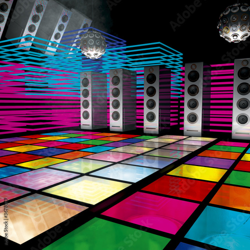 future disco -dance floor- - 3678079