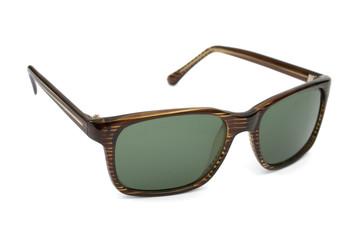 Retro sunglasses, isolated on white background