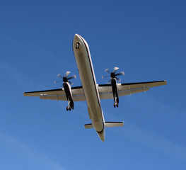 Turboprop from Below