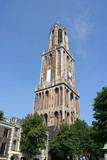 Dom tower in Utrecht, highest church tower of the Netherlands poster
