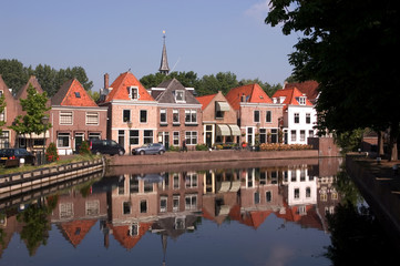 Spaarndam - Village Scene
