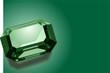 Green emerald background - 3684251