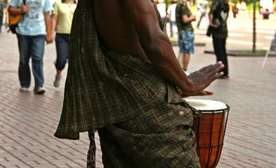 bongo drummer