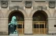 Dresdner Rathaus Eingang