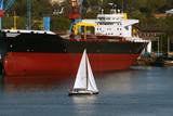 Kiel, Germany. Port. poster