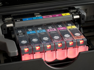 CMYK ink cartridges