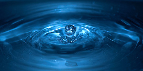 An image of drop of water close-up kkk