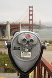 Telescope by the Golden Gate poster