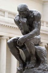 Rodin's Thinker full body