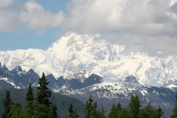 Mt. Denali (McKinley) in Alaska