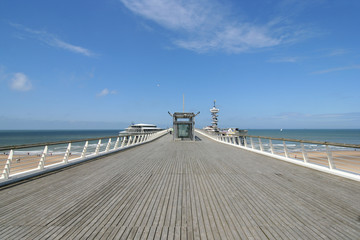 Pier of Scheveningen, Holland
