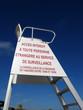 chaise de surveillance de plage