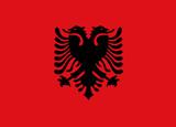 Flag - Albania poster