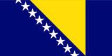 Flag - Bosnia Herzegovina poster