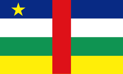 Flag - Central African Republic